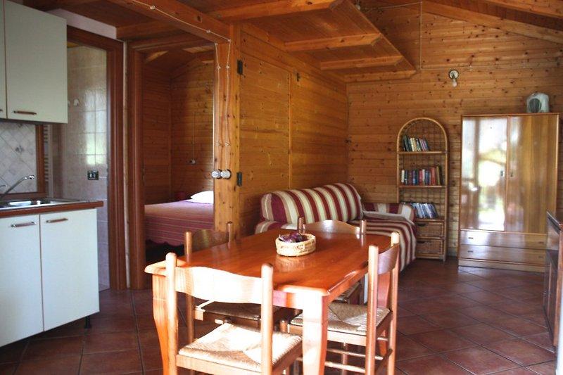 Wohnküche Chalet Sole