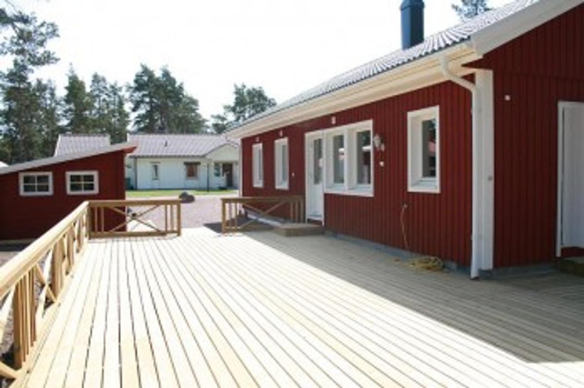 villa sommartider ferienhaus in okn mieten. Black Bedroom Furniture Sets. Home Design Ideas