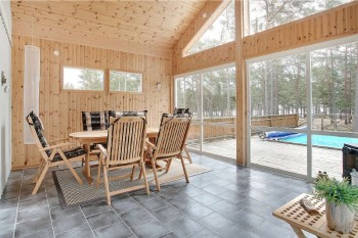 Ostsee pool sauna boot okn ferienhaus in okn - Wintergarten mit pool ...