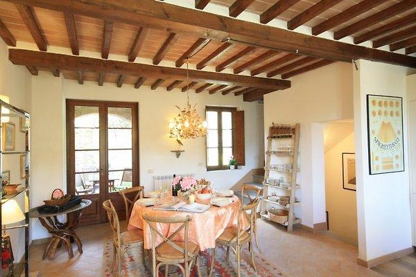 Casa Cora- Ferienhaus in Castelnuovo Berardenga - Bild 1