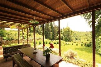 Restaurierte Scheune, 6 km Siena