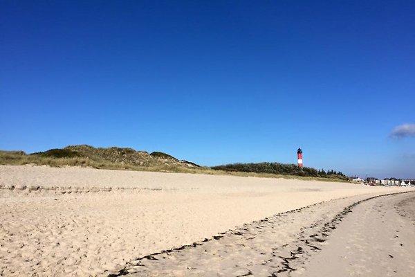 der weite Strand von Hörnum
