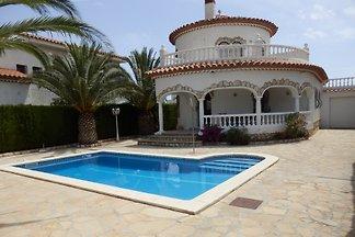 Turm-Villa für 6 Pers.mit Klima