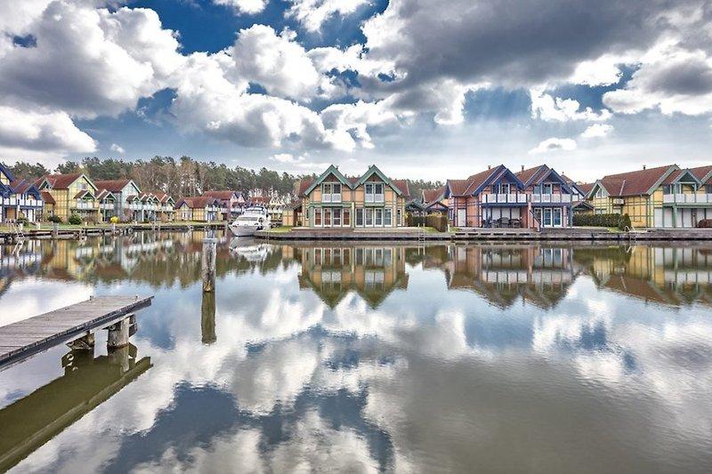 Eine einzigartige Ferienanlage im Norden Brandenburgs an der Mecklenburgischen Seenplatte