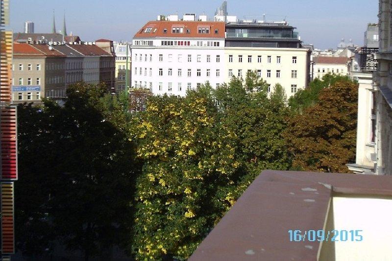 Blick zum Donaukanal