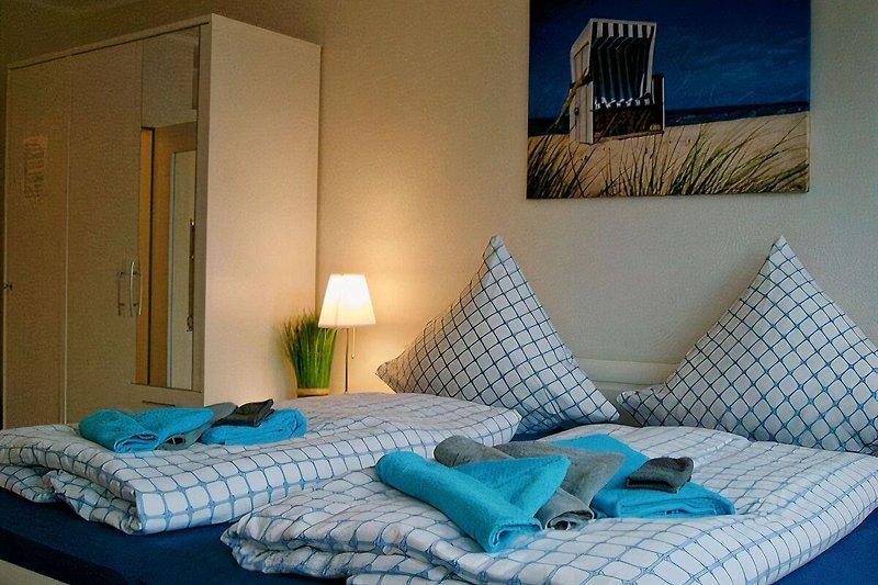 Komfort-Bett mit guten Matratzen