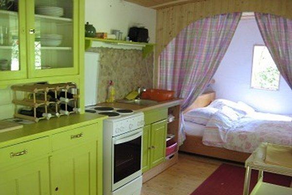 Küche mit Bettalkoven
