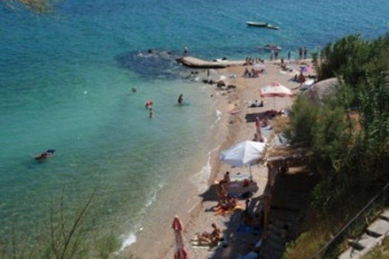 Die Nahegelegenen Straende Ferienwohnungen Villa Maria Pag