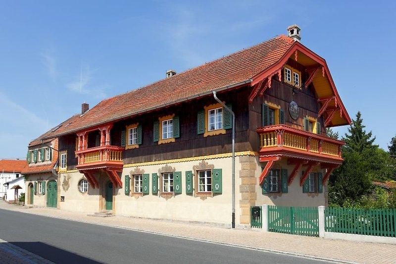 Das Jagdhaus in Schönau
