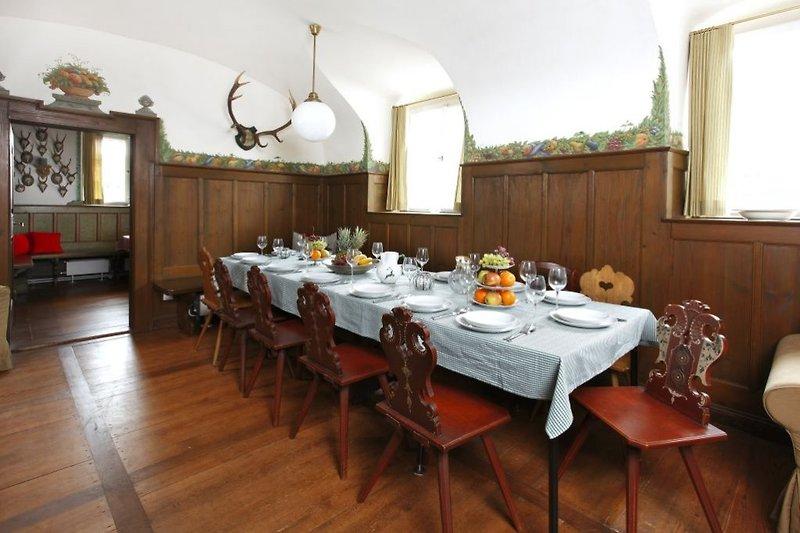 Speisezimmer bis zu 20 Personen