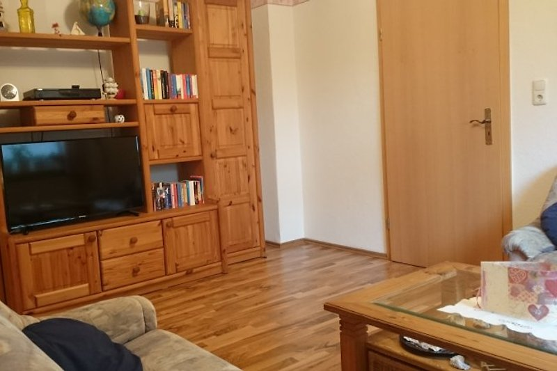 Wohnzimmer mit 40 Zoll TV