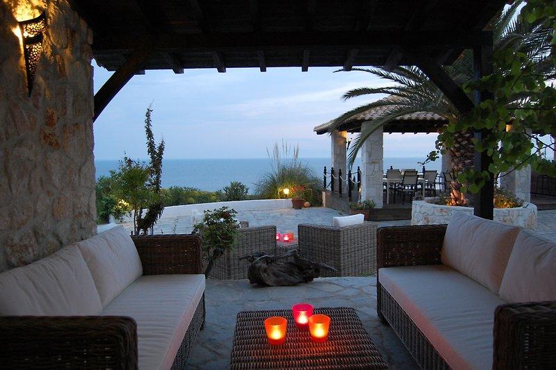 Blick aus der Lounge