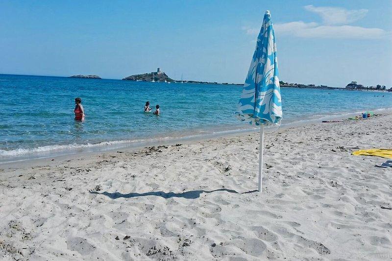 Der Strand ca. 100 m entfernt