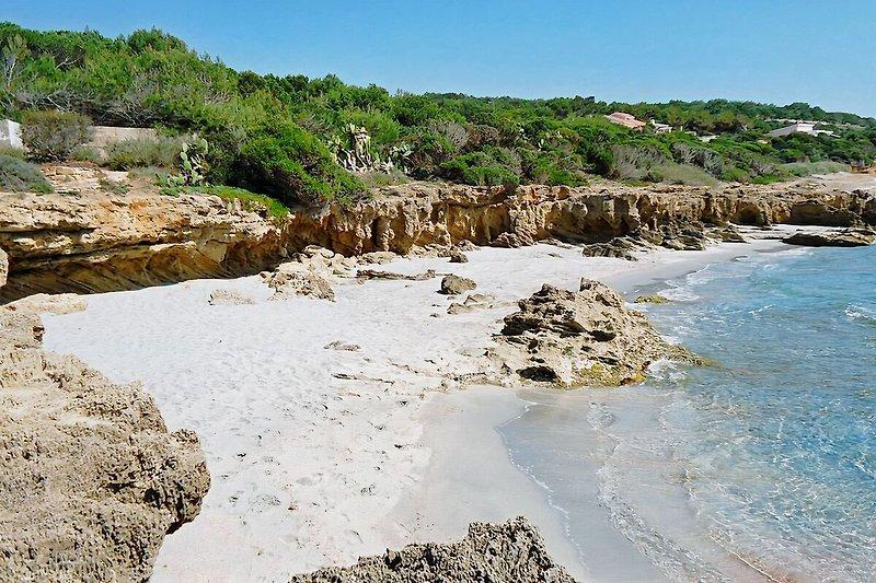 Die kleinen Buchten von Porto-Pinetto