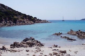 SARDINIA - Holiday house for 8 people within walking distance of the sea and sandy beach of