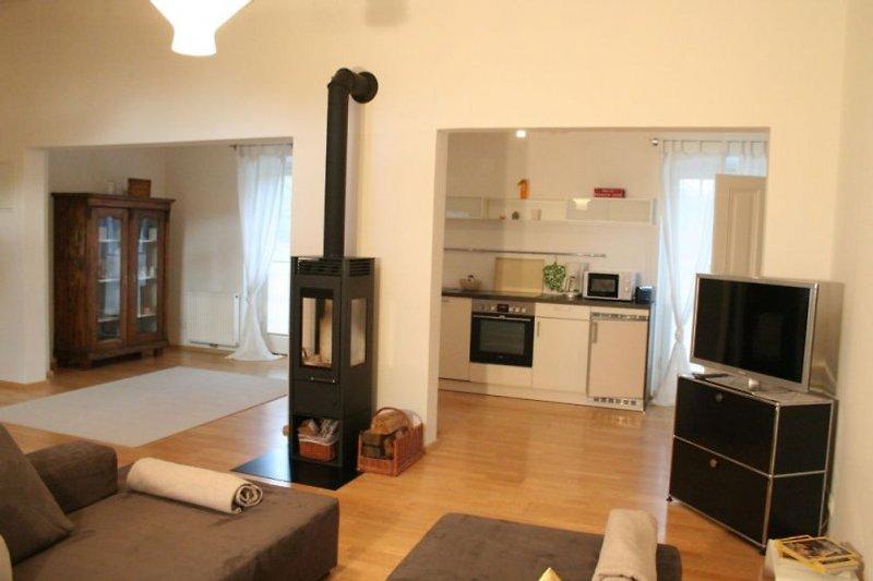 Großzügige, modern adaptierte Appartements im Jagdhaus