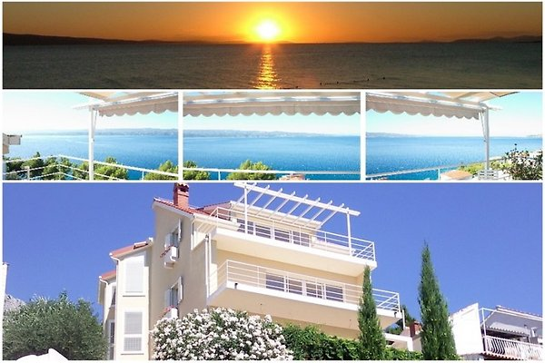 ♥ VILLA l moderno balcones BIG en Omiš - imágen 1
