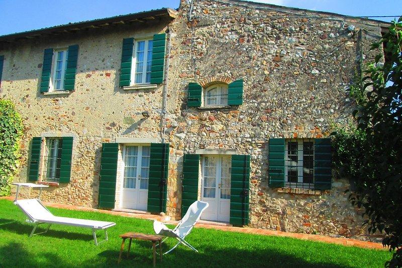 Haus Riccio die Fassade.
