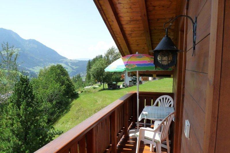 Dachwohnung - Balkon