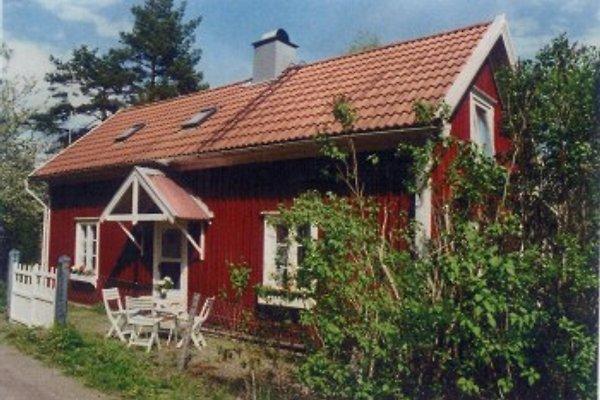 Typisches rotes Schwedenhaus