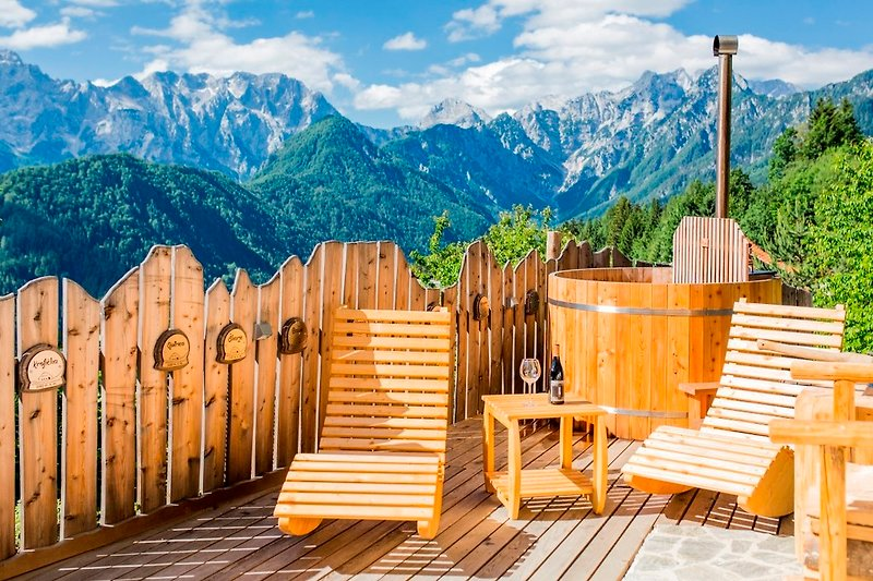 terrasse mit Jacuzi