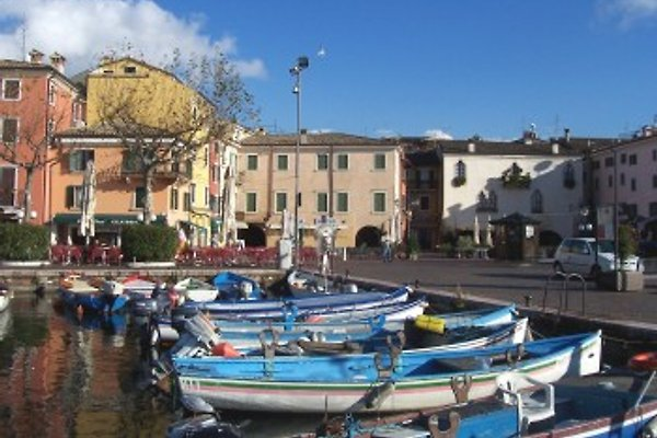 der alte Hafen von Garda