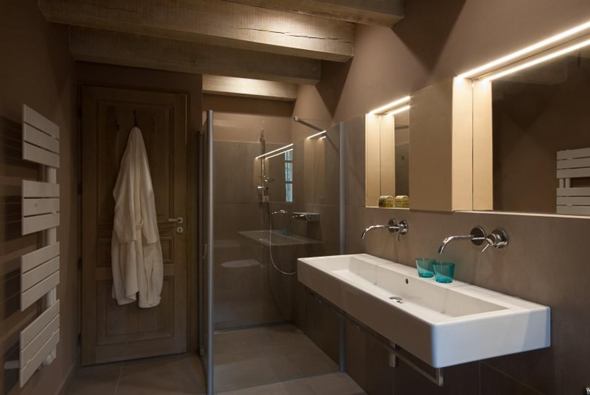 Moulin de cussac vakantiehuis in le buisson de cadouin huren - Wasgoed in de badkamer ...