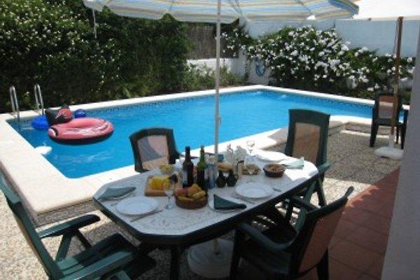 Hütte 3-SZ-Villa mit eigenem Pool in Chiclana La Barrosa - Bild 1