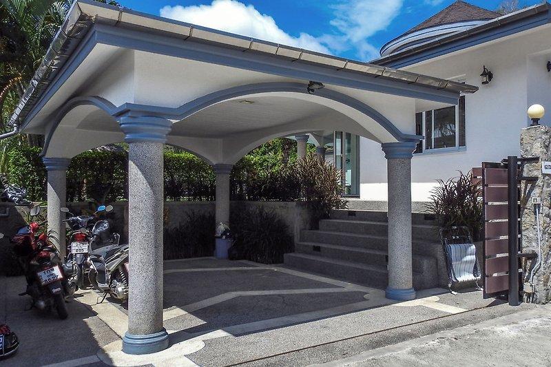 Eingang Villa Relax & Villa Siam