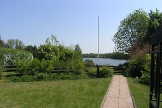 Idyll with lake view