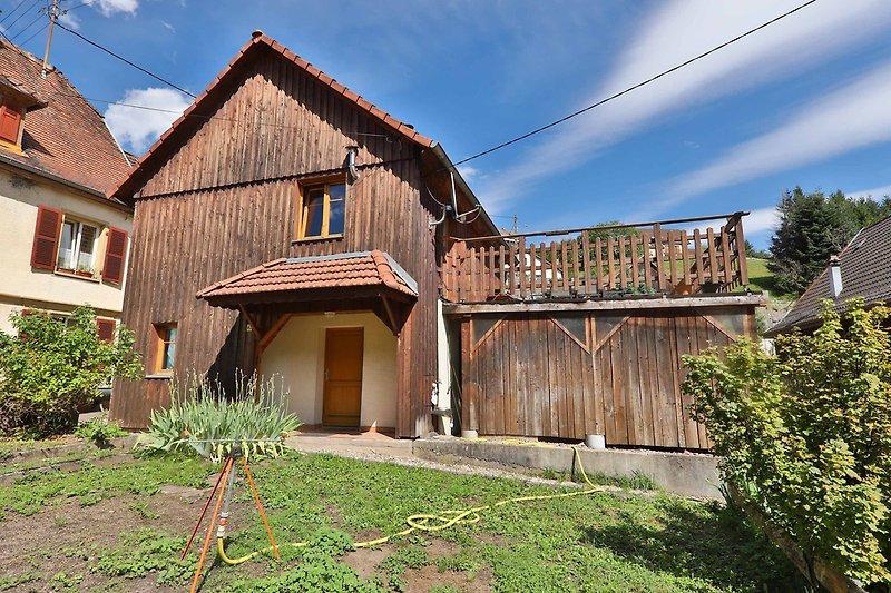 Das Chalet du Tanet mit Grossen terrasse