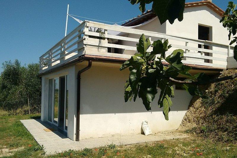 Ferienhaus mit Unter und Obergeschoss