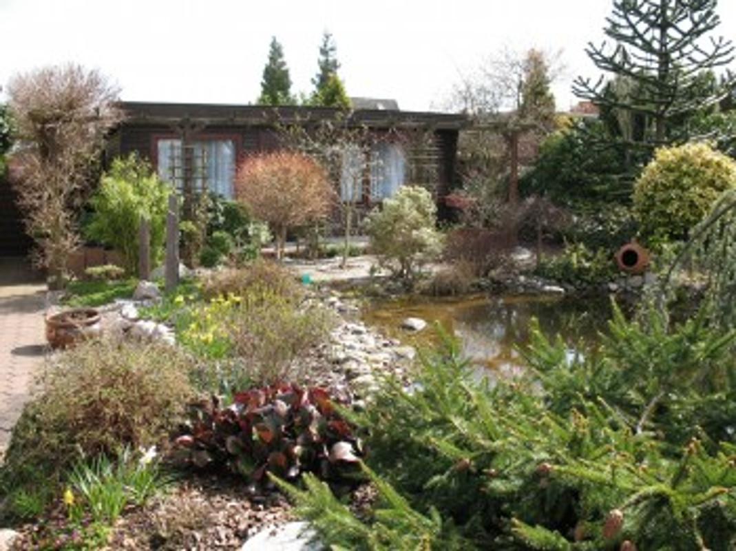 Kleines Garten Blockhaus