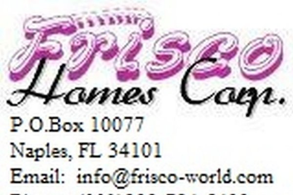 "<span style=""font-size:smaller;"">Firma Frisco Homes USA</span><br> Herr G. Ketzler"