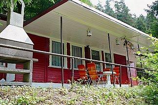 Ferienhaus direkt im Wald schön Ruhig