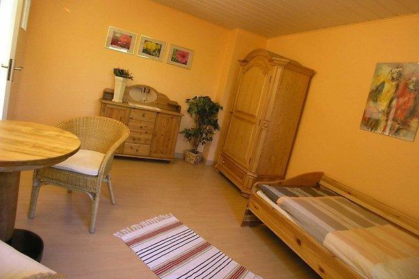 Das Wohnzimmer kann als Schlafzimmer für eine 4. Person genutzt werden