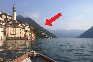 Casa Borgo Vecchio directamente en el lago Como