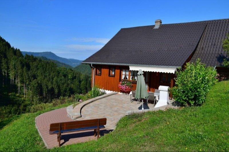 Ferienhaus in Alleinlage