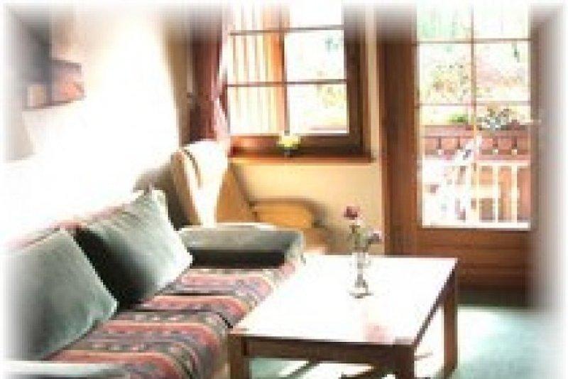 Wohn/Schlafzimmer I Mit Doppel-Schlafcouch
