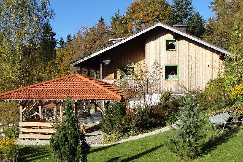 Landhaus Birket im Sommer