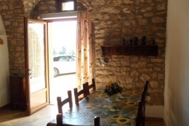 Eingang zum Wohnbereich