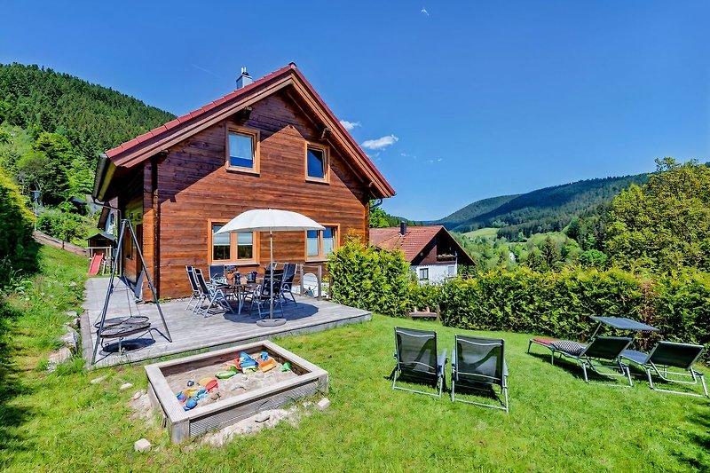 Ferienhaus Schwarzwald Terrasse