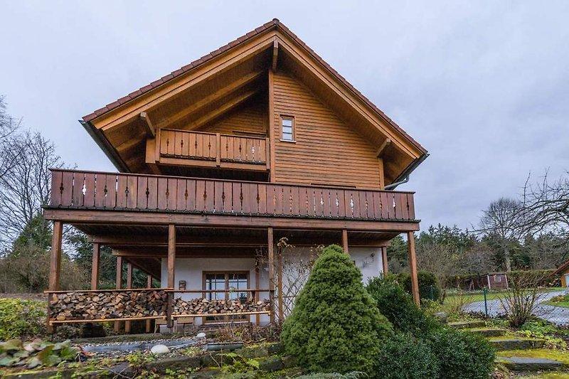 Holzhaus Oberbrändi Außenansicht