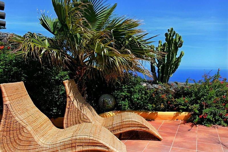 Grill- und Chill-Lounge der Casa La Concha