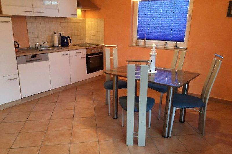 Neue Küche im Erdgeschoss