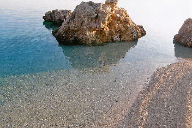 Mimice kleiner Strand