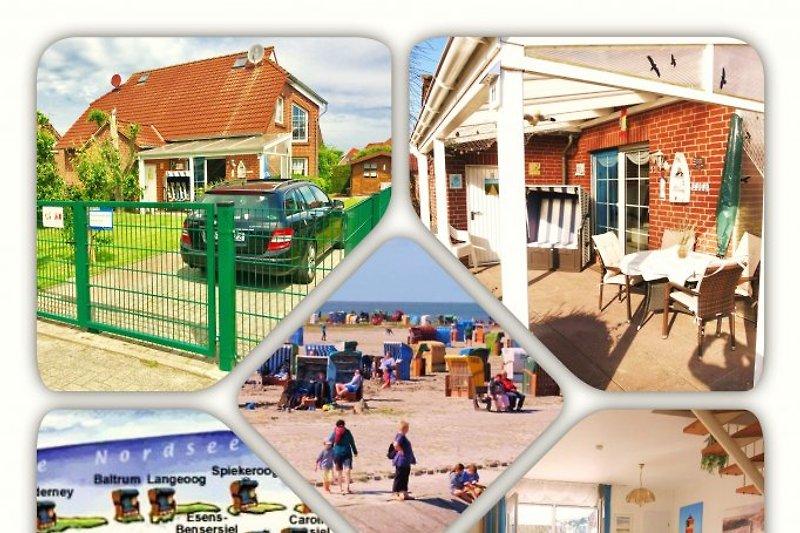 Ferienhaus Huus Wattenmeer