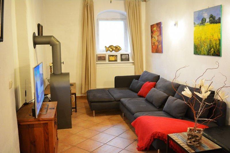 Landhaus sophie ferienhaus in dresden mieten - Wohnzimmer dresden ...