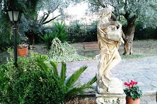 Villa Baiera in den Hügeln von Rom