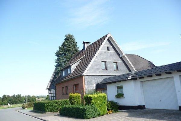 Aussenansicht Ferienhaus Sauerland